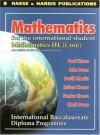 Mathematics for the International Student: Mathematics HL - International Baccalaureate Diploma Programme - Paul Urban, John Owen, Robert Haese