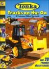 Tonka Trucks on the Go: A Panorama Sticker Storybook - Michael Teitelbaum, Thomas LaPadula, Thomas La Padula