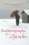 Autobiography of a Geisha - Sayo Masuda