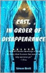 Cast In Order of Disappearance - Simon Brett