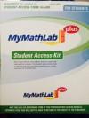 MyMathLab in MyLabsPlus Student Access Kit - Author