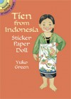 Tien from Indonesia Sticker Paper Doll - Yuko Green