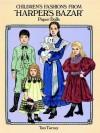 """Children's Fashions from """"Harper's Bazar"""" Paper Dolls - Tom Tierney"""