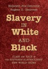 Slavery in White and Black: Class and Race in the Southern Slaveholders' New World Order - Elizabeth Fox-Genovese, Eugene D. Genovese