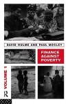 Finance Against Poverty: Volume 1 - Hulme, David Hulme, Paul Mosley
