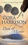 Deed of Murder - Cora Harrison