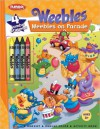 Weebles: Weebles on Parade: Coloring Book with Thick Crayons - Megan E. Bryant, Mary Gribbin, *SI Artists*