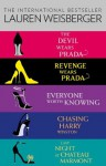 Lauren Weisberger 5-Book Collection: The Devil Wears Prada, Revenge Wears Prada, Everyone Worth Knowing, Chasing Harry Winston, Last Night at Chateau Marmont - Lauren Weisberger
