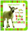 Baby's Very First Book of Farm Animals - Stella Baggott