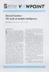 Howard Gardner: The Myth of Multiple Intelligences - John White