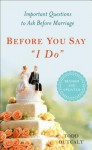Before You Say I Do, Revised - Todd Outcalt
