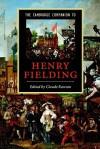 The Cambridge Companion to Henry Fielding - Claude Julien Rawson
