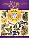 Full-Color Decorative Butterfly Illustrations CD-ROM and Book - Dover Publications Inc.