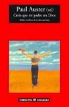 Creía que mi padre era Dios - Paul Auster