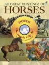 120 Great Paintings of Horses CD-ROM and Book - Carol Belanger-Grafton