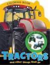 Tractors Mini Coloring Book - Make Believe Ideas