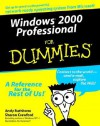 Windows 2000 Professional for Dummies - Andy Rathbone, Sharon Crawford