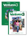 Ventures Level 3 Value Pack (Student's Book with Audio CD and Workbook with Audio CD) - Gretchen Bitterlin, Dennis Johnson, Donna Price, Sylvia Ramirez, K. Lynn Savage