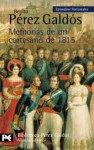 Memorias de un cortesano de 1815 - Benito Pérez Galdós