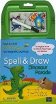 Spell & Draw Dinosaur Parade [With 12 Magnets and Marker] - Nancy Gayle Carlson