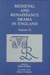 Medieval and Renaissance Drama in England - John Pitcher, Susan P. Cerasano