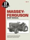 Massey-Ferguson Shop Manual: Models Mf1010 (Standard & Hydro), Mf1020 (Standard & Hydro) - Intertec Publishing Corporation