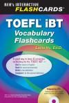 TOEFL iBT Vocabulary Flashcard Book w/ Audio CD - Lucia Hu, Dana Passananti