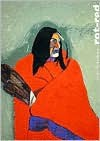 Rot/Red - Fritz Scholder