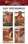 Harlequin Blaze July 2013 Bundle: Wild at HeartLead Me OnFree FallShe's No Angel - Vicki Lewis Thompson, Crystal Green, Karen Foley, Kira Sinclair