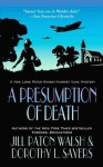 A Presumption of Death (Lord Peter Wimsey and Harriet Vane #2) - Dorothy L. Sayers, Jill Paton Walsh