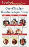 One-Click Buy: December Harlequin Presents - Robyn Donald, Sharon Kendrick, Kim Lawrence, Catherine Spencer