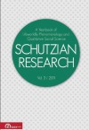 Phenomenology of the Human Sciences (Schutzian Research: A Yearbook of Worldly Phenomenology and Qualitative Social Science) - Jacqueline Martinez, Amedeo Giorgi, Mie Augier, Bettina B. Greaves, Roger Koppl, Alfred Schutz, Richard L. Lanigan