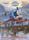 Misty Island Adventure (Thomas & Friends) (Hologramatic Sticker Book) - Golden Books, Jim Durk