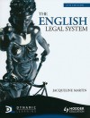 The English Legal System - Jacqueline Martin