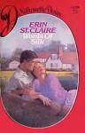 Words of Silk (Silhouette Desire, #139) - Sandra Brown, Erin St. Claire