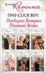 One-Click Buy: Harlequin Romance Diamond Brides - Margaret Way, Raye Morgan, Rebecca Winters, Caroline Anderson