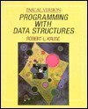 Programming with Data Structures: PASCAL Version - Robert L. Kruse