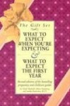 What to Expect Gift Set: What to Expect When You're Expecting - What to Expect the First Year - Arlene Eisenberg, Heidi Murkoff, Sandee Hathaway