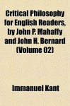 Prolegomena (Critical Philosophy for English Readers, Vol 2) - Immanuel Kant, John H. Bernard, John P. Mahaffy