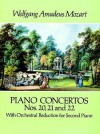 Piano Concertos Nos. 20, 21 and 22: With Orchestral Reduction for Second Piano - Wolfgang Amadeus Mozart