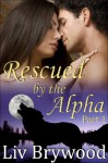 Rescued by the Alpha: Part 1, BBW Werewolf Romance (Silver Creek Pack) - Liv Brywood
