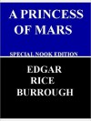 The Princess of Mars- Special NOOK Edition with Illustrations - Edgar Rice Burroughs