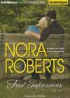 First Impressions (Audiocd) - Teri Clark Linden, Nora Roberts