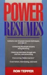 Power Resumes - Ron Tepper