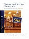 Effective Small Business Management Value Package (Includes Business Plan Pro, Entrepreneurship: Starting And Operating A Small Business) - Norman M. Scarborough, Thomas W. Zimmerer, Doug Wilson
