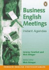Business English Meetings Instant Agendas - Jeremy Comfort, Nick Brieger, Comfort/Brieger