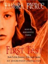 First Test: Book 1 of the Protector of the Small Quartet (Audio) - Tamora Pierce, Bernadette Dunne