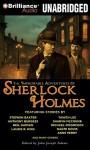 The Improbable Adventures of Sherlock Holmes - John Joseph Adams, Simon Vance, Anne Flosnik, Mary Robinette Kowal