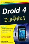 Droid 4 For Dummies - Dan Gookin