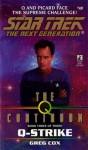 St:tng:#49: Q-strike: The Q Continuum Book 3 - Greg Cox